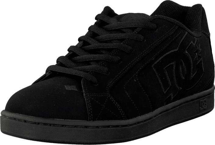 DC Shoes Net Shoe Black/Black, Kengät, Sneakerit ja urheilukengät, Chukka Sneakerit, Musta, Miehet, 42