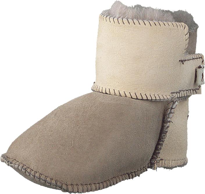 Shepherd Boras Stone/Honey, Kengät, Bootsit, Talvisaappaat, Ruskea, Beige, Unisex, 16