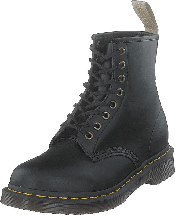 Dr Martens 1460 VEGAN BLACK, Kengät, Bootsit, Kengät, Harmaa, Unisex, 41