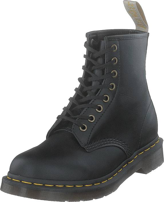Dr Martens 1460 VEGAN BLACK, Kengät, Bootsit, Kengät, Harmaa, Unisex, 42