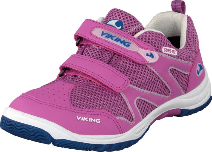Viking Cascade Dark/Pink, Kengät, Sneakerit ja urheilukengät, Urheilukengät, Violetti, Vaaleanpunainen, Unisex, 20