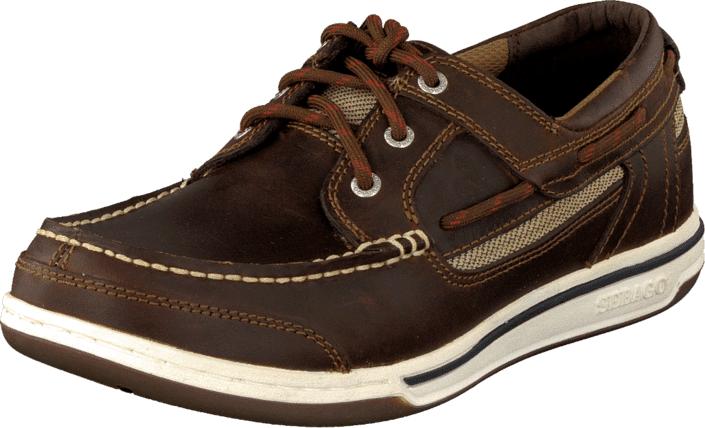 Sebago Triton Walnut, Kengät, Matalapohjaiset kengät, Purjehduskengät, Ruskea, Miehet, 41