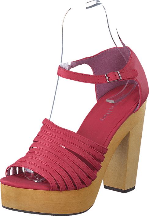 Rules By Mary Moe Shoes Rouge, Kengät, Korkokengät, Avokkaat, Beige, Vaaleanpunainen, Naiset, 36