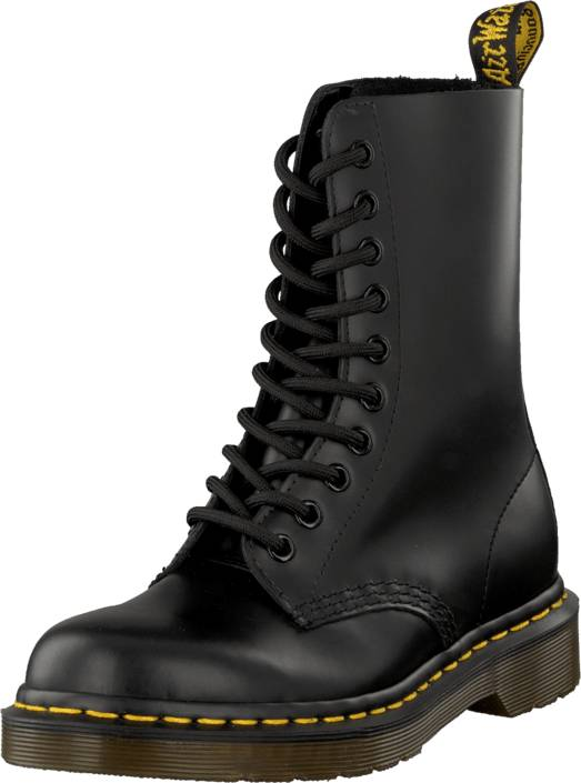 Dr Martens 1490 Black, Kengät, Bootsit, Kengät, Musta, Harmaa, Unisex, 47