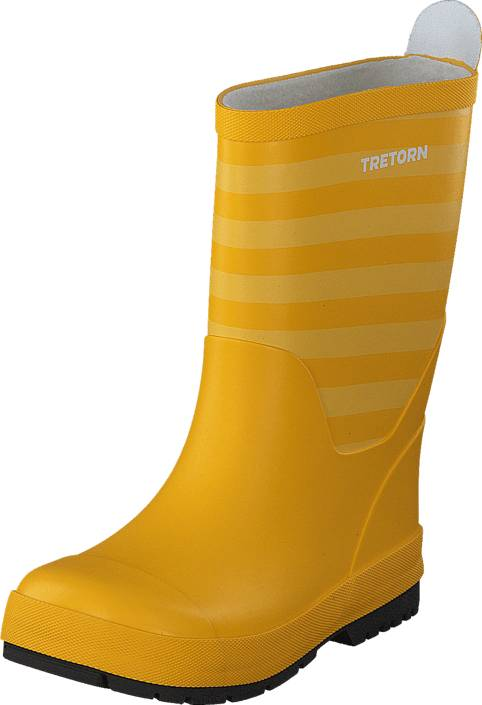 Tretorn Gränna Yellow/Yellow, Kengät, Saappaat ja saapikkaat, Kumisaappaat, Keltainen, Oranssi, Unisex, 24