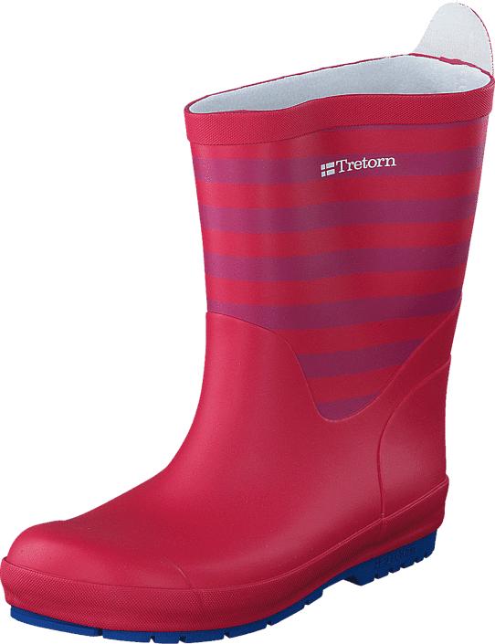 Tretorn Gränna Red/Blue, Kengät, Saappaat ja saapikkaat, Kumisaappaat, Vaaleanpunainen, Unisex, 32