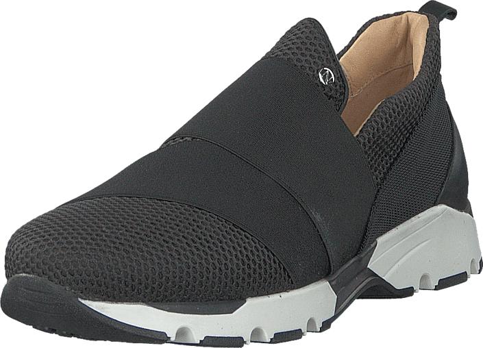 Nude of Scandinavia Freja Multi 2 Black, Kengät, Sneakerit ja urheilukengät, Sneakerit, Musta, Naiset, 36