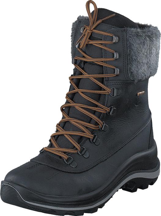 Graninge 5612303 Black Black, Kengät, Bootsit, Lämminvuoriset kengät, Musta, Naiset, 36