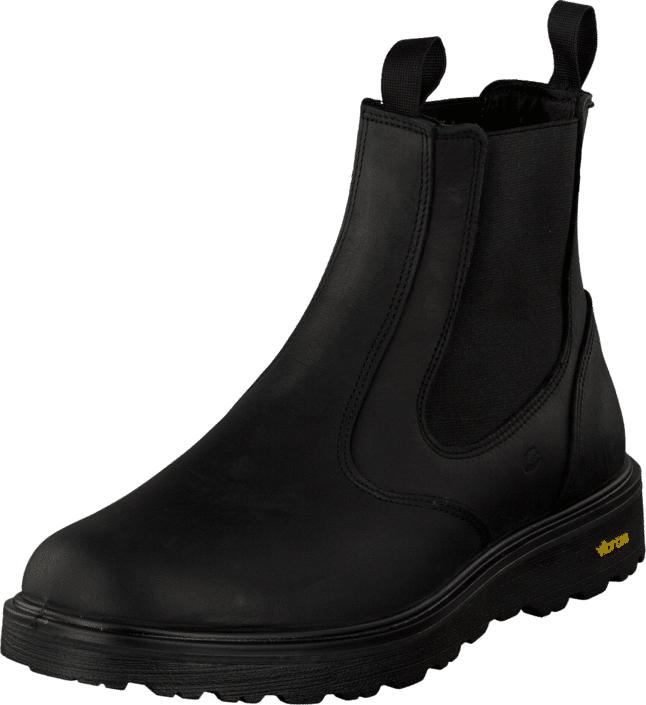 Graninge 56209 Black, Kengät, Bootsit, Chelsea boots, Musta, Unisex, 36