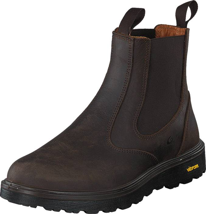Graninge 56209 D.Brown, Kengät, Bootsit, Chelsea boots, Harmaa, Unisex, 38
