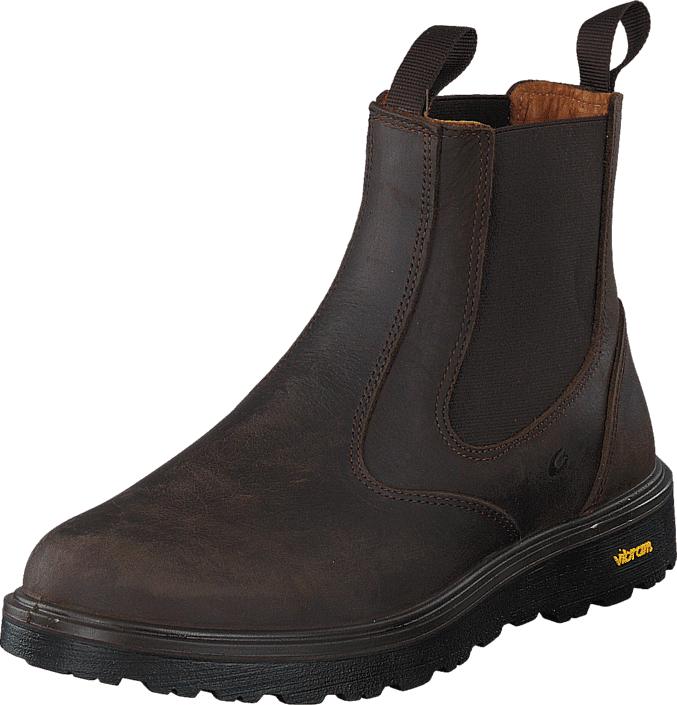 Graninge 56209 D.Brown, Kengät, Bootsit, Chelsea boots, Harmaa, Unisex, 47