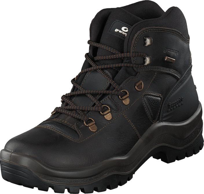 Graninge 56629 Brown, Kengät, Bootsit, Vaelluskengät, Ruskea, Unisex, 45