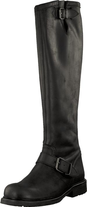 Billi Bi 505 Black crazy horse/gold 902, Kengät, Saappaat ja saapikkaat, Saappaat, Musta, Naiset, 36