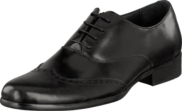 Dahlin Newport Black, Kengät, Matalapohjaiset kengät, Juhlakengät, Musta, Miehet, 45
