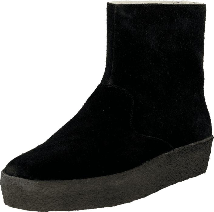 Clarks Jez Ice Black, Kengät, Bootsit, Curlingkengät, Musta, Naiset, 39