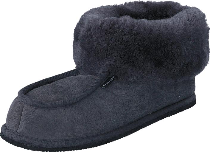 Shepherd Krister Asphalt, Kengät, Sandaalit ja tohvelit, Lämminvuoriset tohvelit, Sininen, Miehet, 42