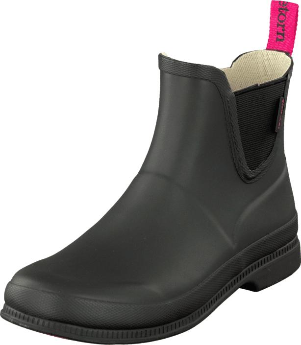 Tretorn Eva Low Black, Kengät, Bootsit, Chelsea boots, Harmaa, Musta, Naiset, 39