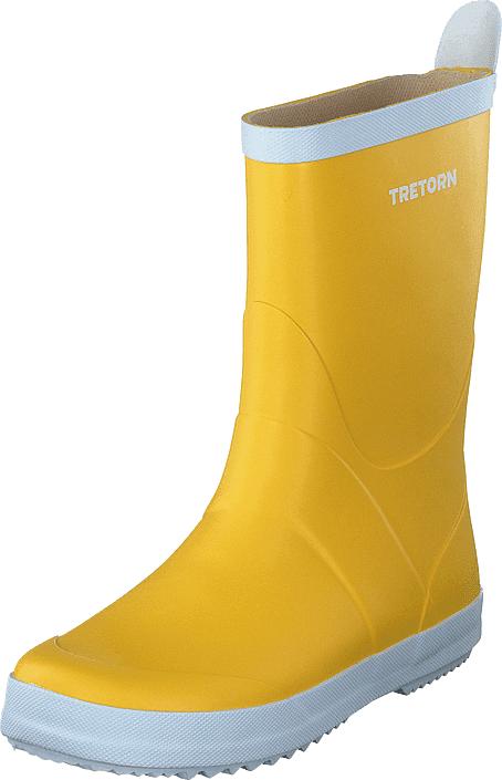 Tretorn Wings Yellow, Kengät, Saappaat ja saapikkaat, Kumisaappaat, Keltainen, Unisex, 37