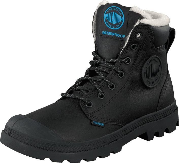 Palladium Sport Cuff WPS Black 001, Kengät, Bootsit, Kengät, Musta, Unisex, 39