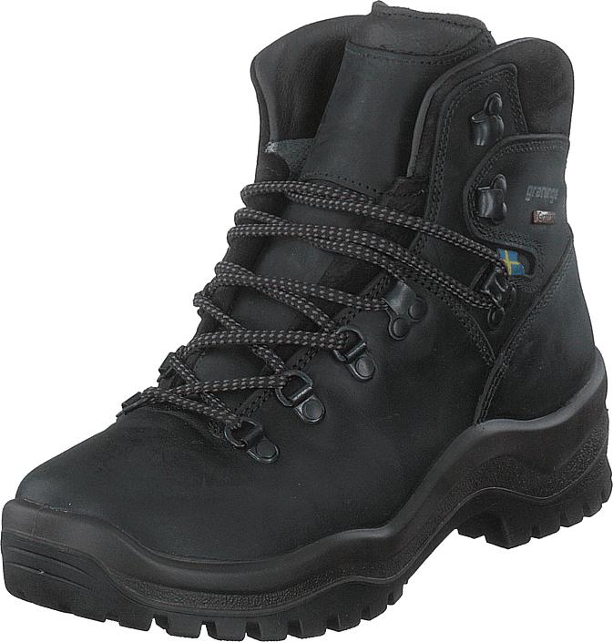 Graninge 5610629 Black, Kengät, Bootsit, Vaelluskengät, Musta, Unisex, 36