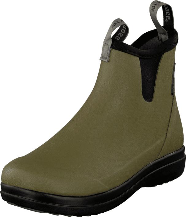 LaCrosse Hampton II Women Olive, Kengät, Bootsit, Chelsea boots, Vihreä, Naiset, 37