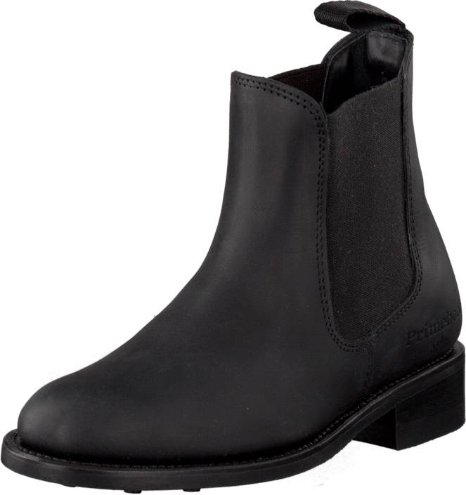 PrimeBoots Ascot Maidenshead Low-332 Old crazy black, Kengät, Bootsit, Chelsea boots, Musta, Naiset, 36