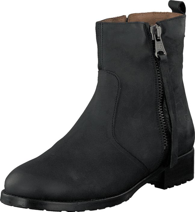 Sixtyseven 76397 Esja Oleato Black, Kengät, Bootsit, Korkeavartiset bootsit, Musta, Naiset, 36