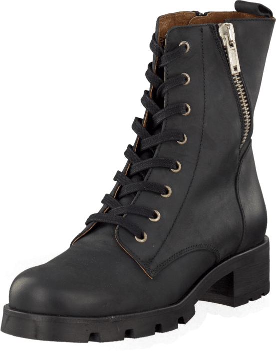 Sixtyseven 76252 Saga Oleato Black, Kengät, Bootsit, Korkeavartiset bootsit, Musta, Naiset, 36