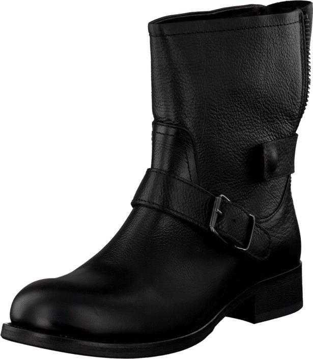 Billi Bi Black Tomcat/Grafite T Black/Grey, Kengät, Bootsit, Korkeavartiset bootsit, Musta, Naiset, 36