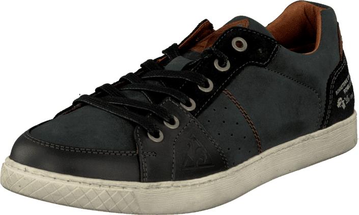 Le Coq Sportif Juste Uni Low Black, Kengät, Sneakerit ja urheilukengät, Varrettomat tennarit, Musta, Miehet, 40