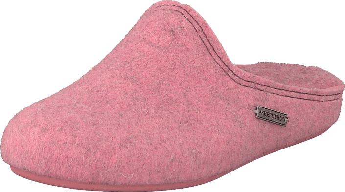 Shepherd Ystad Pink, Kengät, Sandaalit ja tohvelit, Tohvelit, Vaaleanpunainen, Unisex, 35
