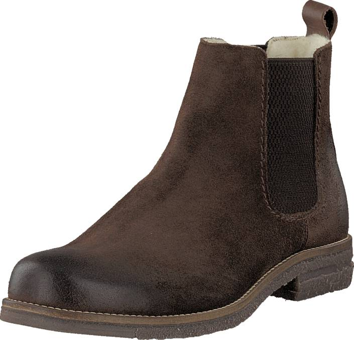 Shepherd Emanuel Outdoor Brun, Kengät, Bootsit, Chelsea boots, Ruskea, Miehet, 44