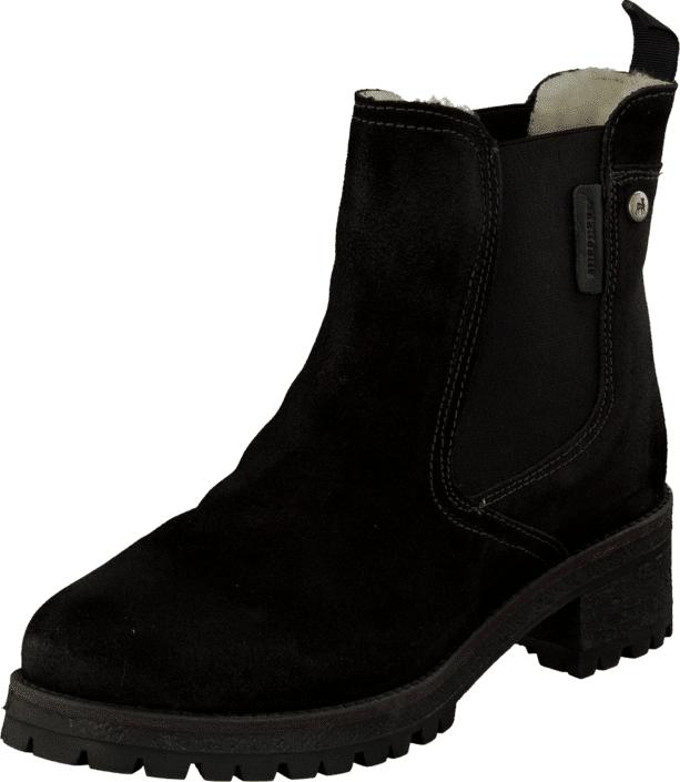 Shepherd Lotta Black, Kengät, Bootsit, Chelsea boots, Musta, Naiset, 37