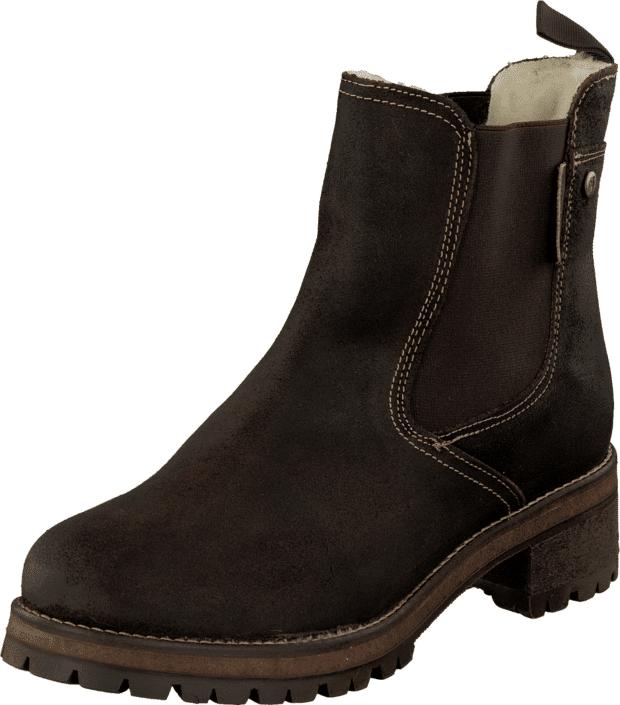 Shepherd Lotta Moro, Kengät, Bootsit, Korkeavartiset bootsit, Ruskea, Musta, Naiset, 36