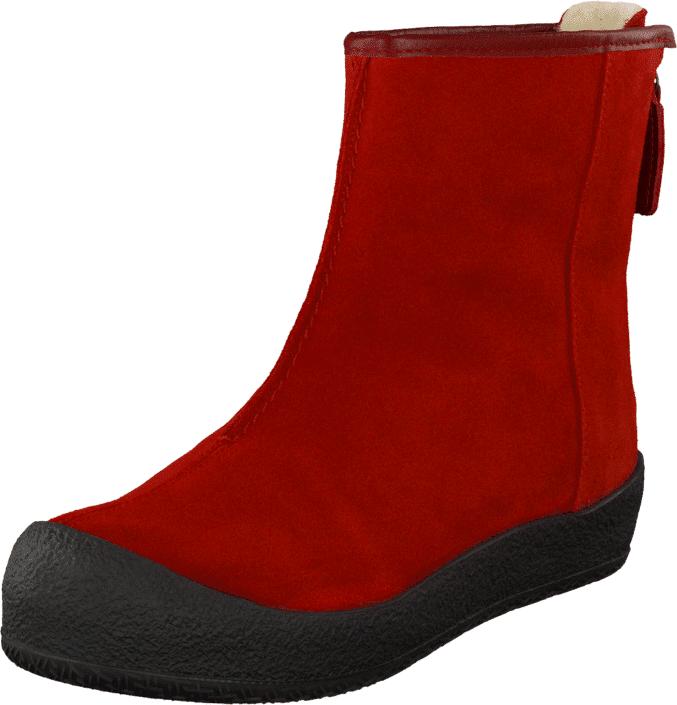 Shepherd Elin Red, Kengät, Bootsit, Curlingkengät, Punainen, Naiset, 37