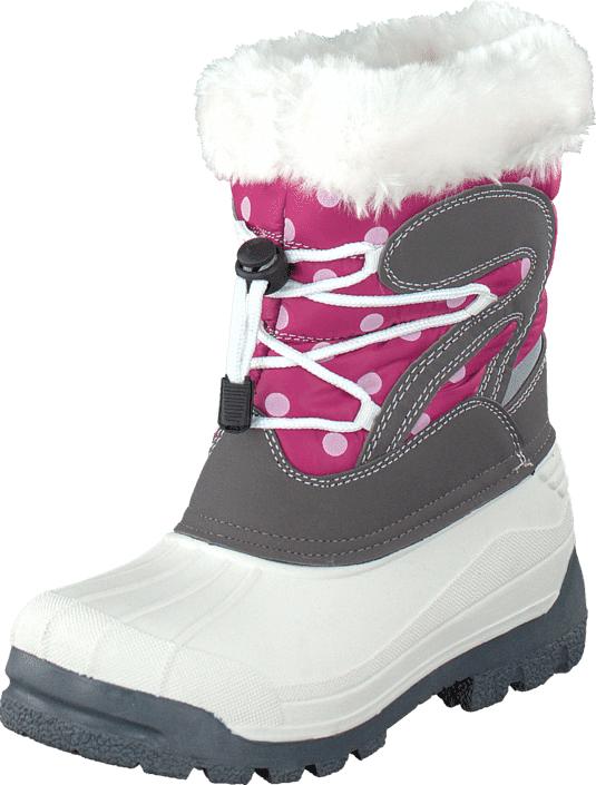 Eskimo Stampe II Bordeaux 28, Kengät, Bootsit, Lämminvuoriset kengät, Harmaa, Unisex, 27