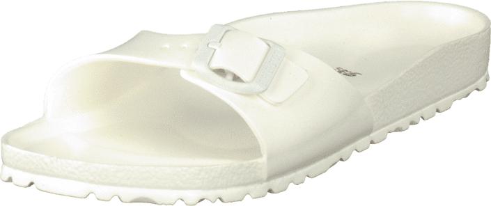 Birkenstock Madrid EVA Slim White, Kengät, Sandaalit ja tohvelit, Sandaalit, Valkoinen, Naiset, 38