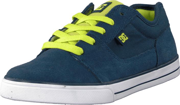 DC Shoes Kids Tonik Shoe Navy, Kengät, Sneakerit ja urheilukengät, Varrettomat tennarit, Turkoosi, Sininen, Unisex, 29