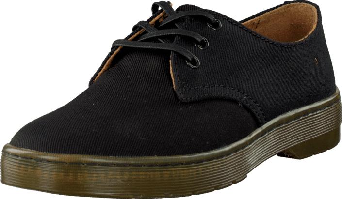 Dr Martens Delray Black, Kengät, Matalapohjaiset kengät, Juhlakengät, Musta, Miehet, 44