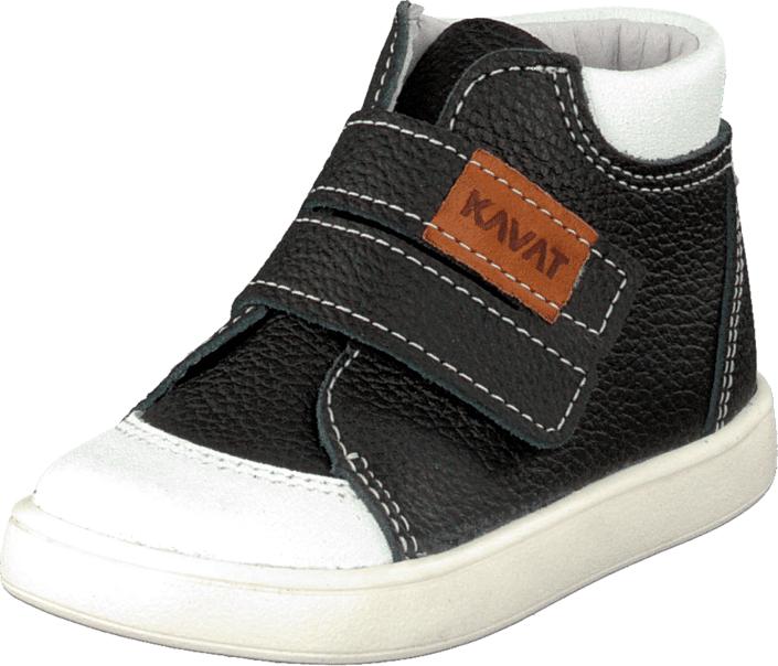 Kavat Fiskeby Xc Black, Kengät, Sneakerit ja urheilukengät, Korkeavartiset tennarit, Musta, Unisex, 19