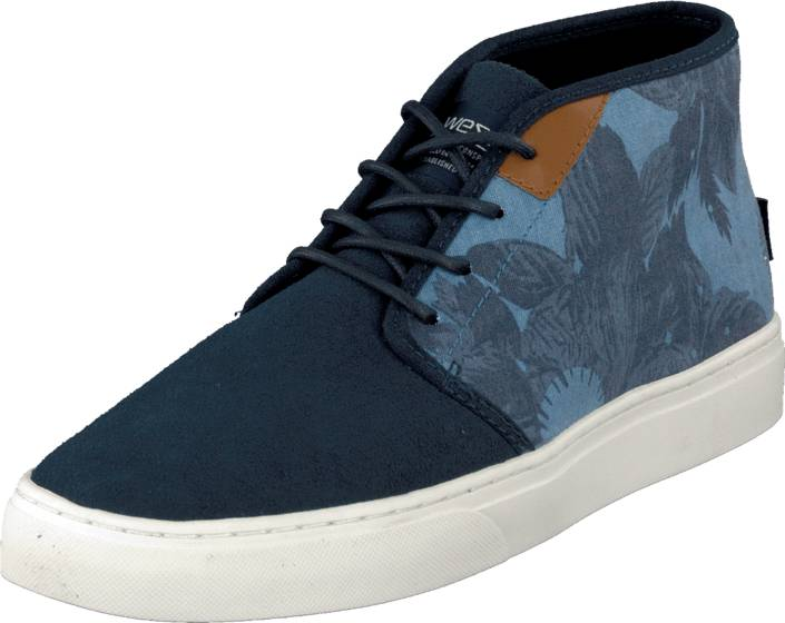 WeSC CS01 - Chukka Sneaker Coronet Blue, Kengät, Sneakerit ja urheilukengät, Chukka Sneakerit, Sininen, Turkoosi, Miehet, 40