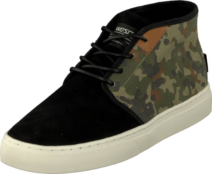 WeSC CS01 - Chukka Sneaker Aloe, Kengät, Sneakerit ja urheilukengät, Chukka Sneakerit, Vihreä, Kuvioitu, Miehet, 40