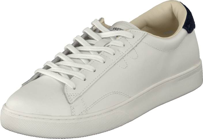 WeSC OCP02 - Off Court Sneaker White, Kengät, Sneakerit ja urheilukengät, Varrettomat tennarit, Valkoinen, Miehet, 40
