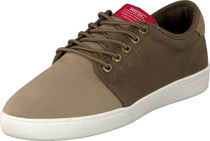 WeSC ODS02 - Off Deck Sneaker Desert Stone, Kengät, Sneakerit ja urheilukengät, Varrettomat tennarit, Ruskea, Miehet, 40