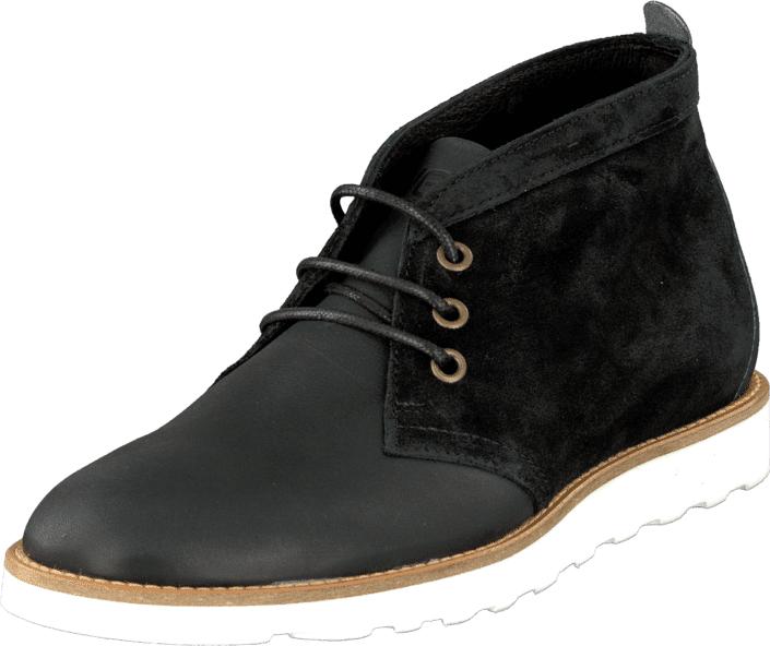 WeSC PDB01 - Desert Boot Black, Kengät, Bootsit, Chukka boots, Musta, Miehet, 40