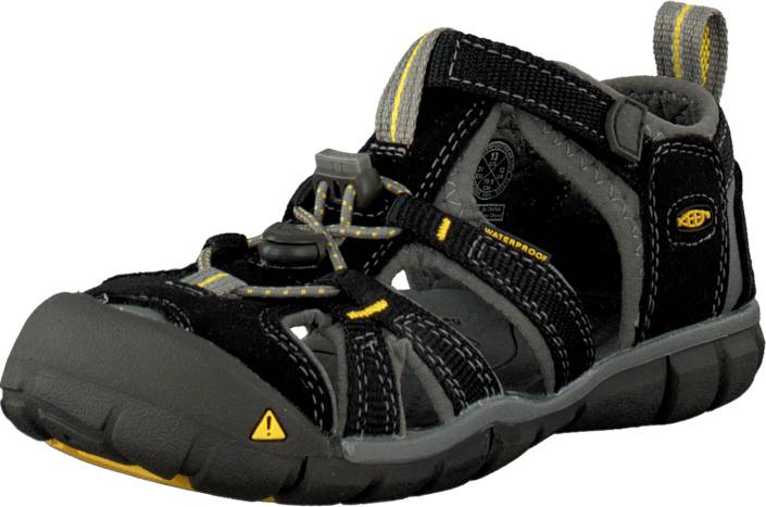 Keen Seacamp II Cnx Toddler Black/Yellow, Kengät, Sandaalit ja tohvelit, Sporttisandaalit, Musta, Unisex, 27