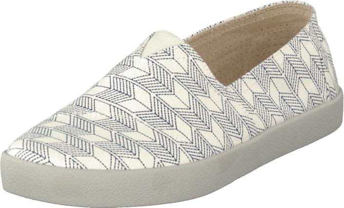 Toms Avalon Sneaker Blue, Kengät, Matalapohjaiset kengät, Slip on, Harmaa, Valkoinen, Miehet, 40