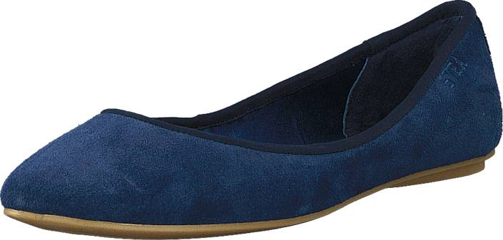 Svea Nacka 1 Navy, Kengät, Matalapohjaiset kengät, Ballerinat, Sininen, Naiset, 37