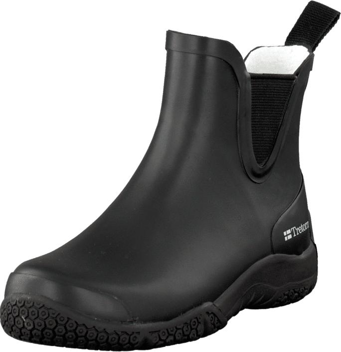 Tretorn Öresund Black, Kengät, Bootsit, Chelsea boots, Musta, Naiset, 34