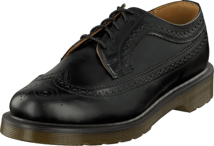 Dr Martens Wingtip 3989 Black, Kengät, Matalapohjaiset kengät, Juhlakengät, Musta, Unisex, 44